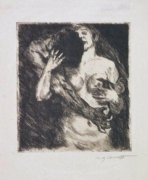 Umarmung (auf Japan), LOVIS CORINTH, 1915 von Atelier Liesjes