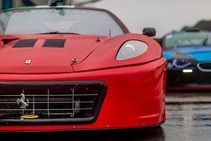 Ferrari F430GT3 op het circuit