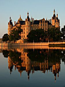 kasteel van schwerin mecklenburg-vorpommern Duitsland