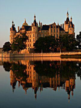 kasteel van schwerin mecklenburg-vorpommern Duitsland van Jessica Berendsen