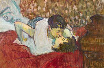 Der Kuss, Henri de Toulouse-Lautrec - 1892