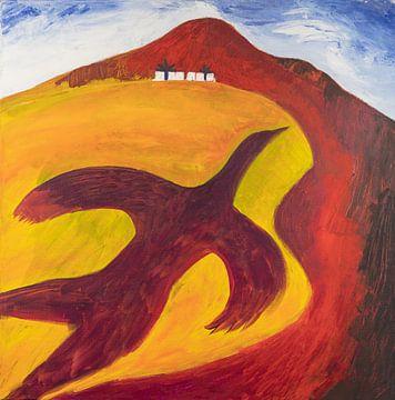 Schattenvogel von Ivonne Sommer