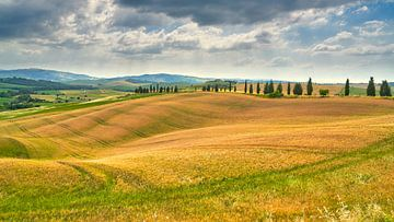 Bild der Landschaft in der Toskana von