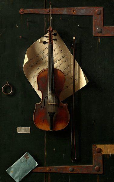 De oude Viool, William Michael Harnett van Liszt Collection