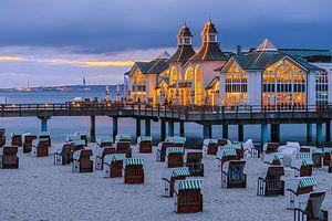 Sunset Sellin Pier, Rügen, Deutschland