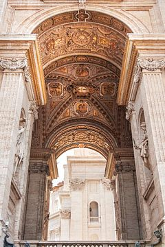 Gouden  plafond in Vaticaanstad sur Anouschka Hendriks