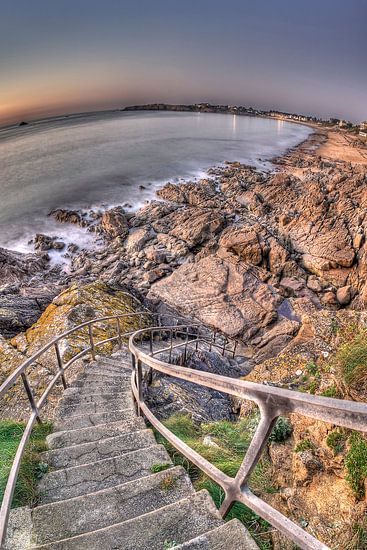 Long stairs to the Sea