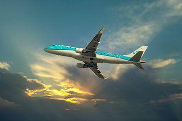 KLM Cityhopper, die PH EXZ. Embraer 170/175 von Gert Hilbink