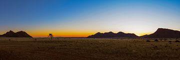 Afrikaanse zonsondergang van Denis Feiner