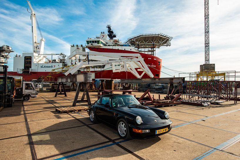 Industrie und Porsche von Brian Morgan