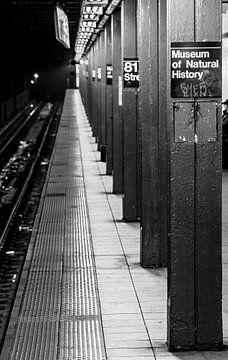 Metrostation 81 Street in New York van Jack Koning