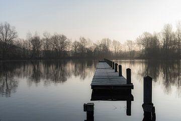 Geulstrand Valkenburg aan de Geul Zuid Limburg Nederland van Evelien Heuts-Flachs