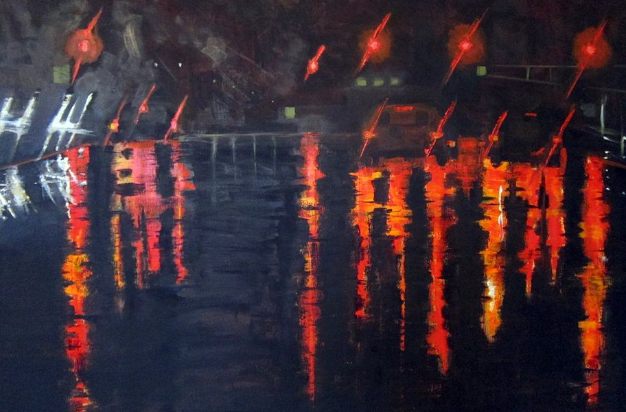 Lights of the night van Chris Willems