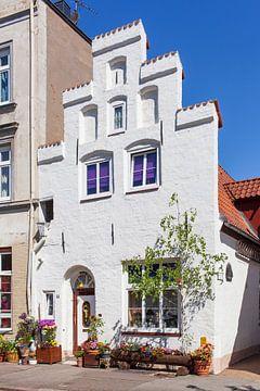 Historische Hausfassade, Altstadt, Lübeck, Schleswig-Holstein, Deutschland, Europa von Torsten Krüger