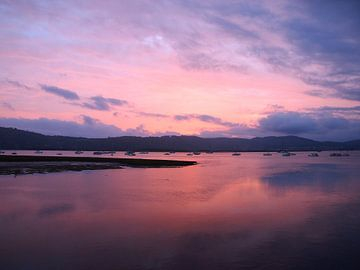 Sonnenuntergang in Knysna van Patrick Hundt