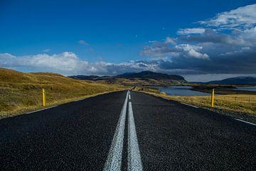 Iceland Road sur Freek van den Driesschen