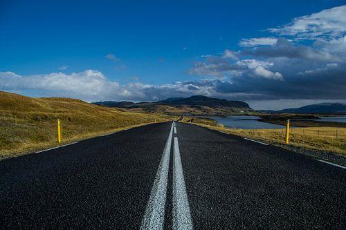 Iceland Road van