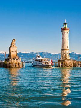 Port de Lindau sur le lac de Constance