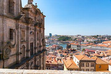 Vue sur la ville de Porto sur Fotografiecor .nl