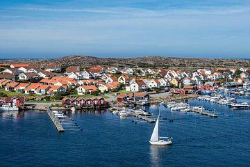 Blick auf den Ort Smögen in Schweden von Rico Ködder