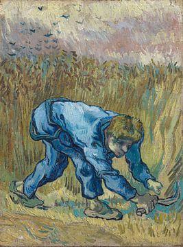 Schnitter mit Sichel (nach Hirse), Vincent van Gogh