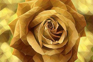 Rose digital bearbeitet van Babetts Bildergalerie