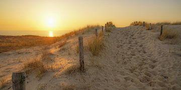 Strandeingang bei Katwijk von Dirk van Egmond