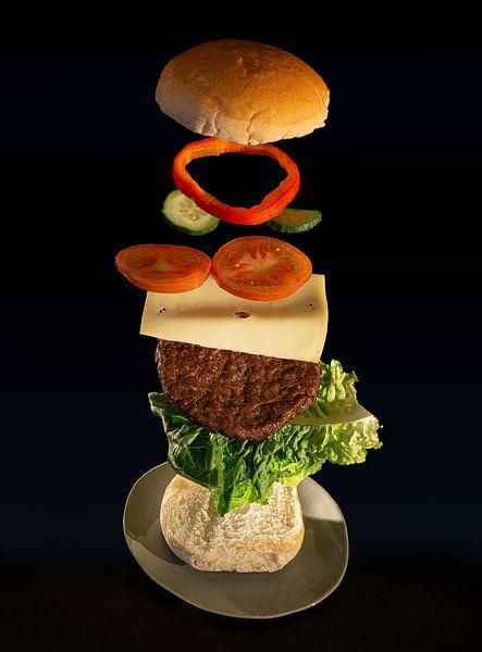 Le hamburger volant, deuxième partie. sur Pieter van Roijen