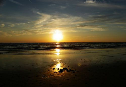 zonsondergang bergen aan zee