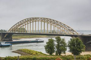 Waalbrug in Nijmegen van Fotografie Jeronimo