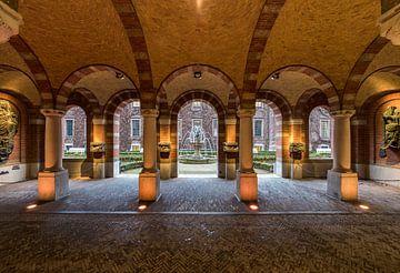 Stadhuis Rotterdam, Binnentuin sur Jan Sluijter