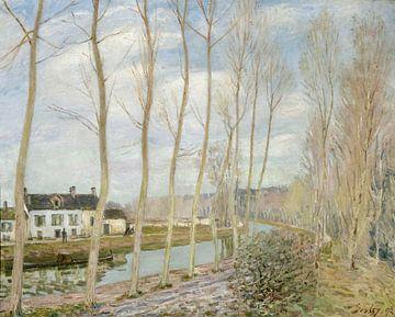 Der Loing'sche Kanal, Alfred Sisley