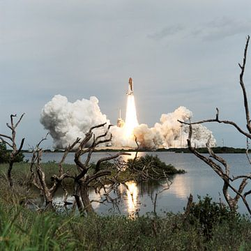 De Lancering van de Space Shuttle Endeavour van Digital Universe