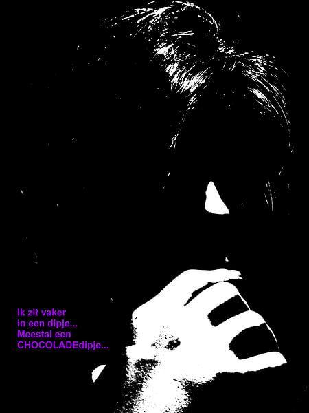 Dolende Dertigers: Last Van Een Choco-Dipje! van MoArt (Maurice Heuts)