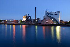 Industriële evenementenlocatie DeFabrique aan het Amsterdam-Rijnkanaal in Utrecht