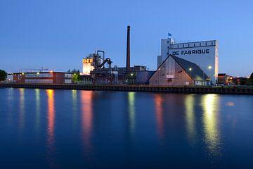 Industriële evenementenlocatie DeFabrique aan het Amsterdam-Rijnkanaal in Utrecht sur Donker Utrecht