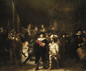 De Nachtwacht, Rembrandt van Rijn van Rembrandt van Rijn