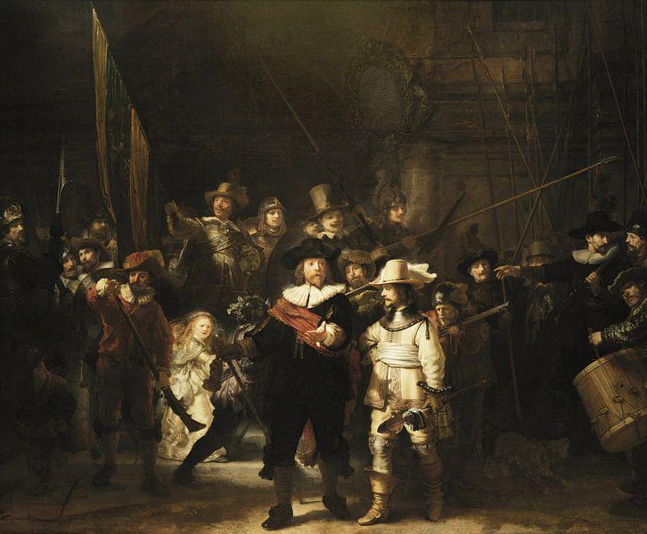 De Nachtwacht,Rembrandt van Rijn van Rembrandt van Rijn
