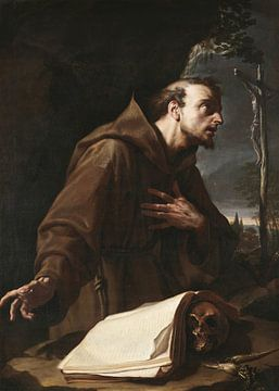Der heilige Franziskus in der Buße, Francesco Trevisani
