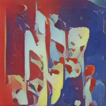 Abstract Inspiratie XVI van Maurice Dawson