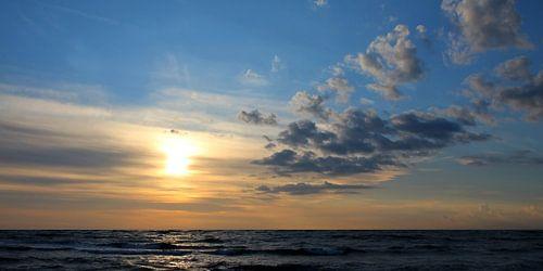 Abendpanorama von Ostsee Bilder
