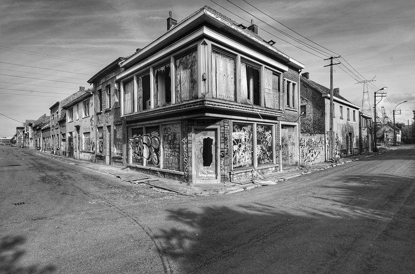 Doel, Belgium. Abandoned Corner van Robin Boer