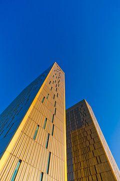 Europäischer Gerichtshof im Europaviertel in Luxemburg von Werner Dieterich