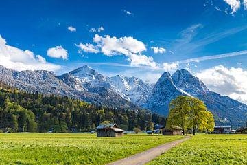 Frühling im Zugspitzland von Manfred Schmierl