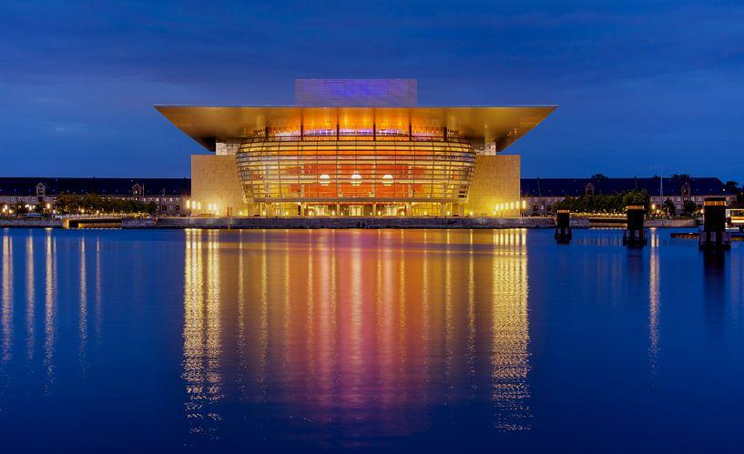 Opera in Kopenhagen, Denemarken van Adelheid Smitt