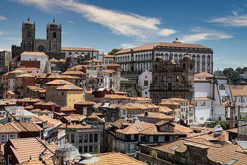 Dächer von Porto III von Eddie Meijer
