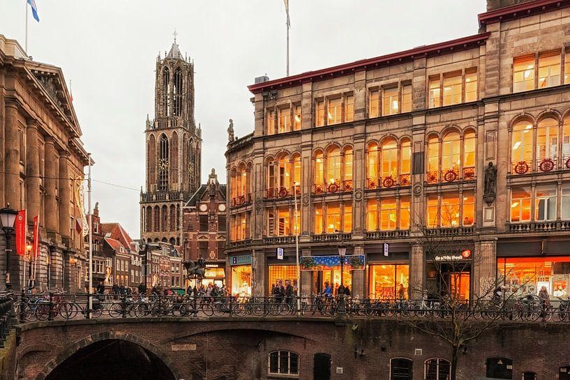 Oud Utrecht van Jan van der Knaap