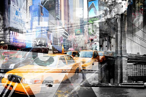 New York City | Geometric Mix No. 9