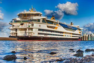 Veerboot TESO Texel - Den Helder - Netherlands van Johan Habing