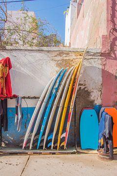Surfboarding in Marokko von Bianca Kramer
